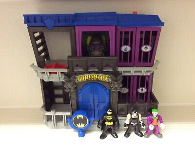 Super Friends Imaginext Batman Gotham City Jail Playset With Bane