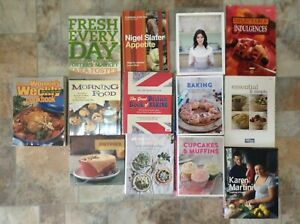 13 Cook Books, Excellent condition the lot $50