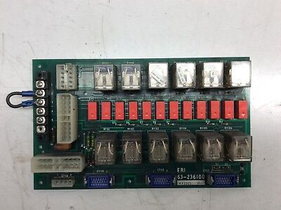 Sanyo / NEC PC Relay Board, LEBLOND MAKINO, ERI 163-236100, 163-265422, Used