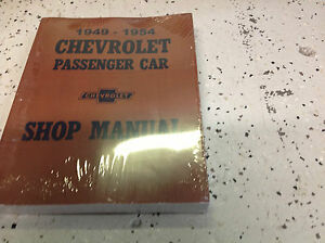 1949-1950-1951-1952-1953-1954-CHEVY-Chevrolet-Car-Service-Shop-Manual-NEW-x