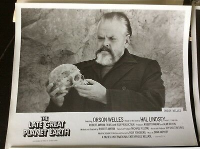 The Late Great Planet Earth Press Kit 1976 ORSON WELLES