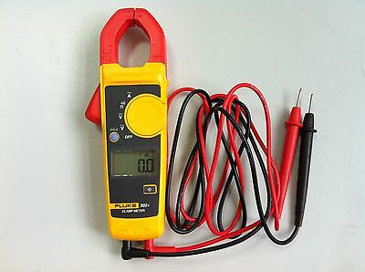New Fluke 302 Digital Clamp Meter Acdc Handheld Multimeter Tester W Case