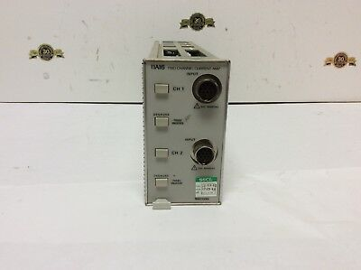 Tektronix 11a16 Two Channel Current Amp Oscilloscope Plug-in Test Equipment