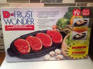 D-FROST WONDER – The Safest Way to Defrost Frozen Food Quickly a