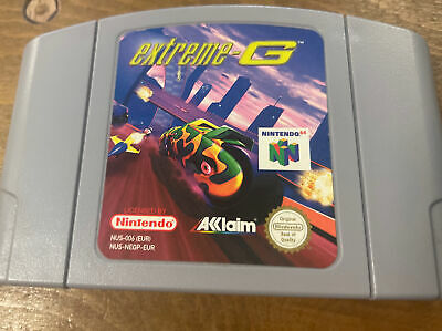 N64 Game EXTREME G cart Only Pal