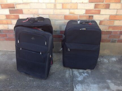 Suit cases Manningham Port Adelaide Area Preview