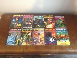 Christopher Pike's Spooksville Book Lot