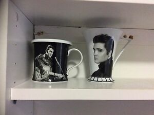 2x Elvis Coffee Cups. Oxenford Gold Coast North Preview