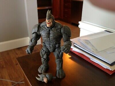 MARVEL LEGENDS COMPLETE B.A.F. BUILD A FIGURE RHINO, MINT!