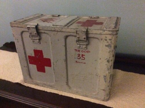WWII Red Cross First Aid Kit