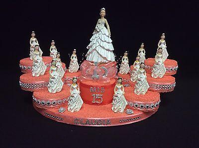 Quinceanera Cake Topper Center Piece Table Decoration Sweet 16 Mis Quince](Quinceanera Table Decorations Centerpieces)