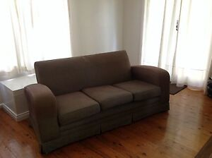 Club lounge sofa 70's Elanora Heights Pittwater Area Preview