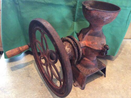 ANTIQUE ENTERPRISE COFFEE GRINDER Patented 1873 PHILADELPHIA For Parts