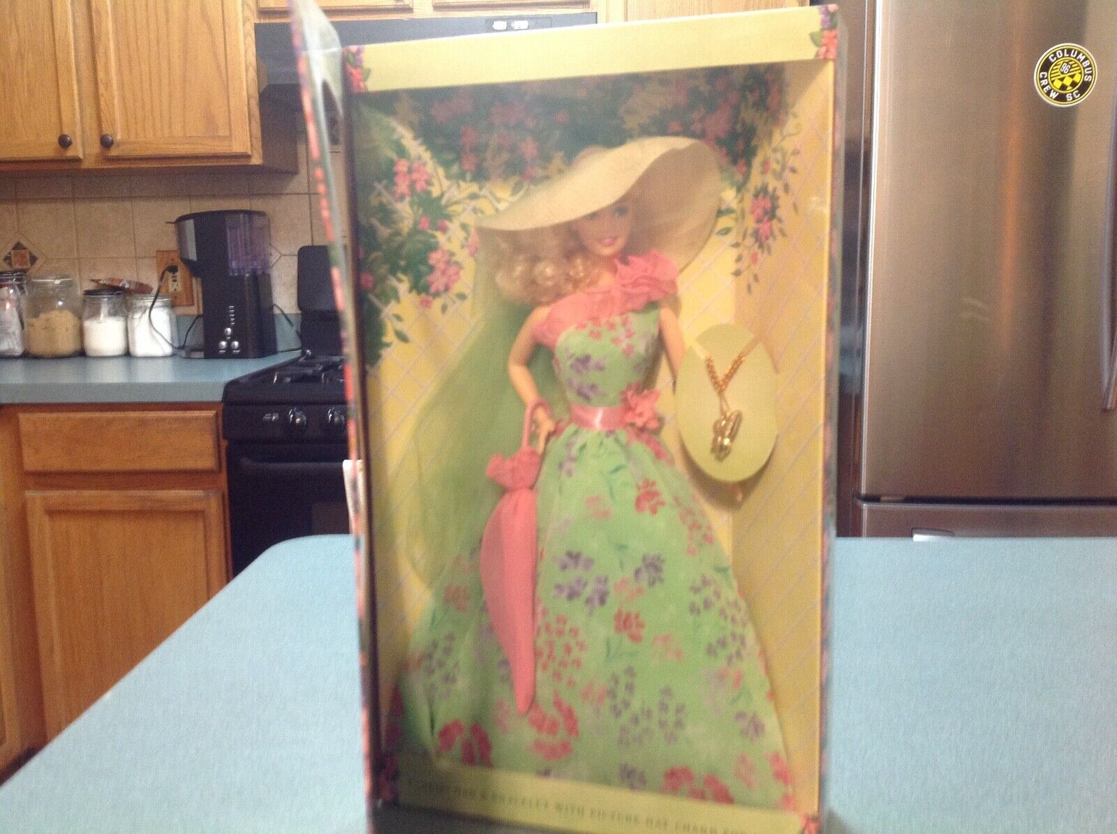 Easter Spring Garden Party Barbie, New, Comes With A Charm Bracelet - $20.00