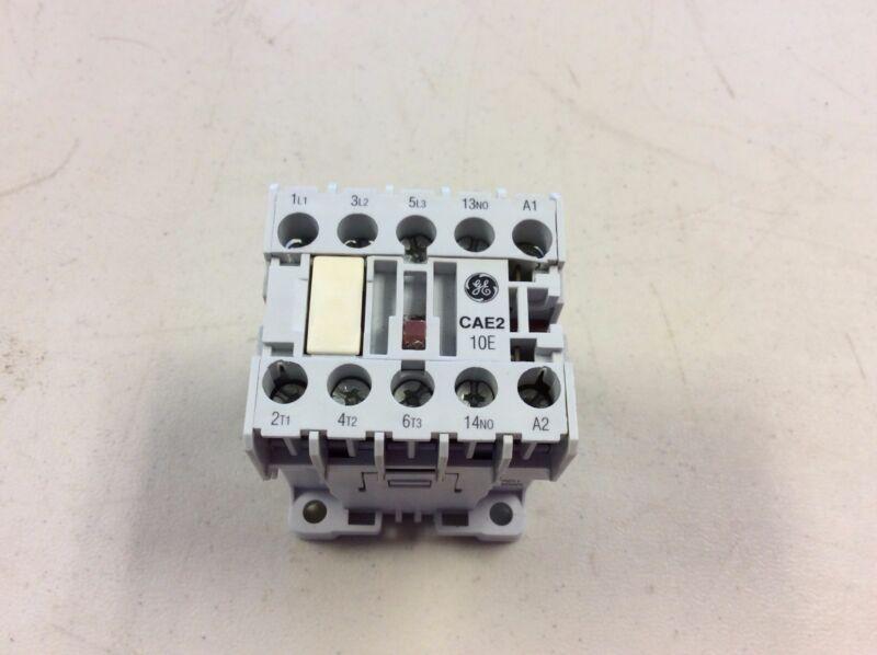 GE General Electric CAE210T 110/120 VAC 5 HP Starter CAE2-10E CAE2 10E