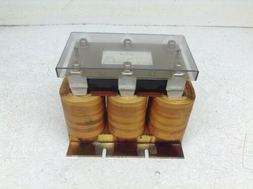 GE Fanuc A81L-0001-0121 Line Reactor 0.1 mH 156 Amp A81L00010121 (TSC)