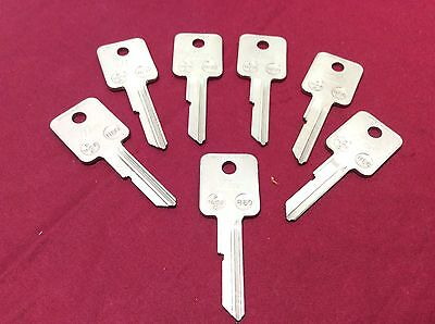 Gm By Ilco B50 Key Blanks Set Of 7- Locksmith