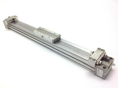 "Tol-O-Matic Rodless Cable Cylinder Actuator 56/"" Travel 3/"" Diameter"