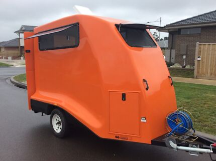 """BRAND NEW KINGSFIBREGLASS dog grooming trailer """"RENT TO OWN"""" Seacliff Park Marion Area Preview"""