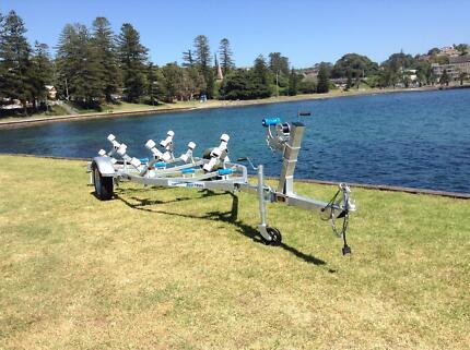 Fibreglass/Inflatable Boat Trailer, suits Boats up to 4.8-5.1m Kiama Kiama Area Preview