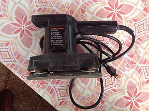 Finish Sander - Black & Decker - $10.00