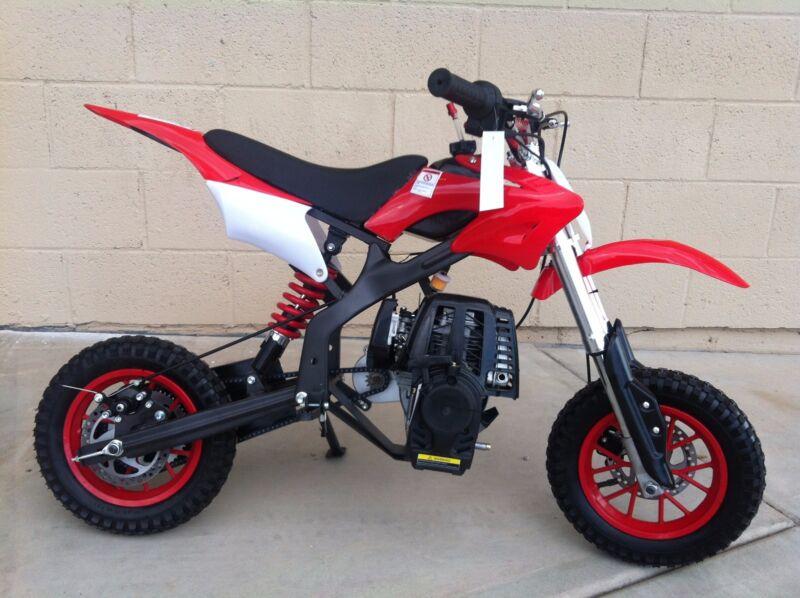 Brand New Automatic Sportster 40cc Upgraded Mini Dirt Bike - Red