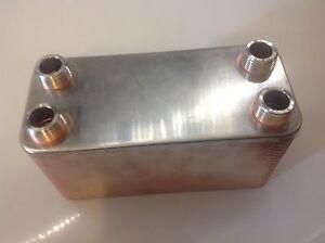 Scambiatore di calore 40 piastre termocamini caldaie ebay - Scambiatore di calore casa ...