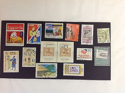Collection Of Postal Thematic Stamps