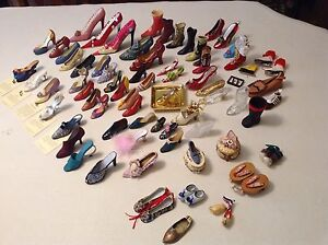Mini collectable shoes