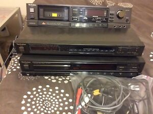 Technics stereo equipment
