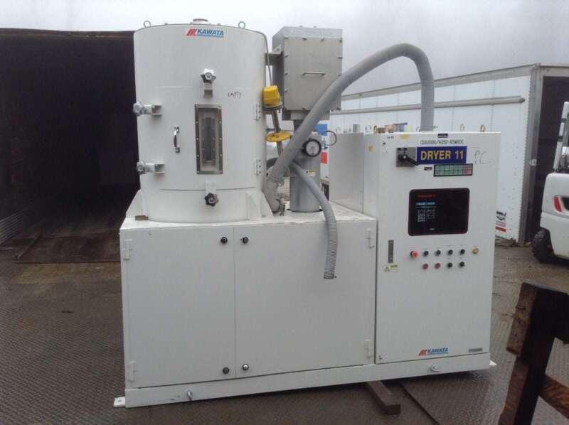 Kawata CDA200U H350-4SW60C Challenger II Dehumidifying Dryer Plastic Dryer