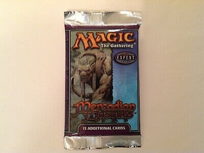 Magic the Gathering Mercadian Masques Booster Pack Factory Sealed