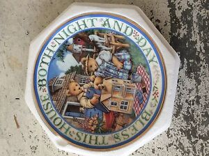 """Royal Doulton Franklin Mint """"Bless This House"""" Collector Plate New Farm Brisbane North East Preview"""