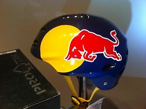 Pro Tec HELMET red Racing bull F1 MX BMX TEAM Mountain ...