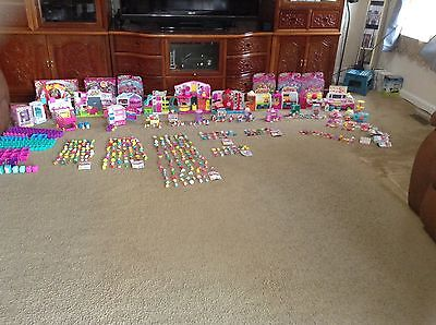 SHOPKINS MIXED SEASONS (1-6), NEW/USED PLAYSETS AND DOLLS LOT