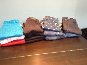 12 pairs girls jeans pants size 7 GapKids great cond.