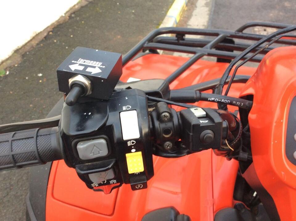 2013 HONDA TRX500 AT FPA AUTO FOREMAN HYDRO 10 SPEED LOW BOX 4x2x4 4WD QUAD ATV