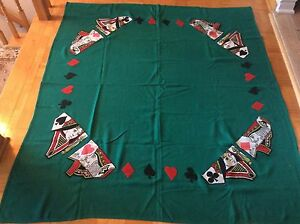 Hand made poker table cloth NEW