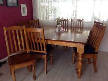 Timber Dining table Marulan Goulburn City Preview