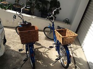 2 x ELECTRIC BLUE BICYCLES - HEAPS OF FUN Caringbah Sutherland Area Preview