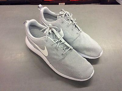Nike Men's Roshe One Running Shoes Wolf Grey/White Size 10.5 D