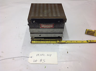 6.5 Magnetool Mspc664 Mspc-664 Magnetic Compound Chuck Sine Plate Combo