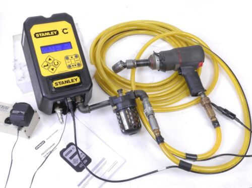 Ingersoll Rand 2145 w/ Stanley Torque Controller XDCR Pulse Tool and Transducer