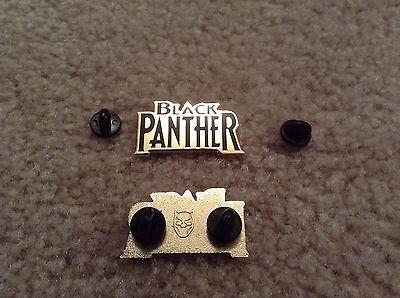 Marvel Black Panther Logo pin