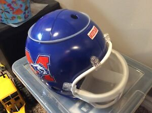 Football full-size helmet for chips and dip $25