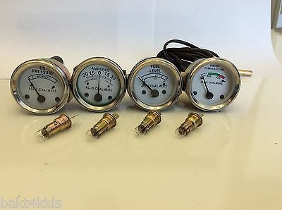 Allis Chalmers Wd45 D15d17 D19 Tempoil Amp Fuel Gauge Ships From Usa