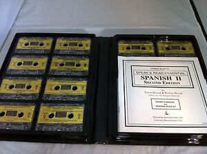 Pimsleurs-Speak-Read-Essential-Spanish-II-Second-Edition-Audio-Cassette-Set