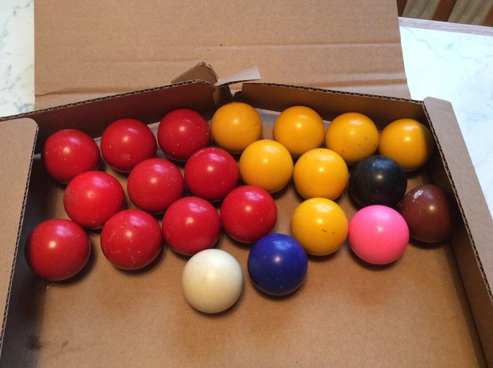 Snooker Balls - Assorted Colours
