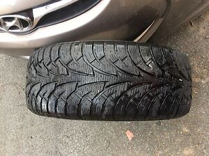 BARELY USED WINTER TIRES: USED FOR THREE MONTHS