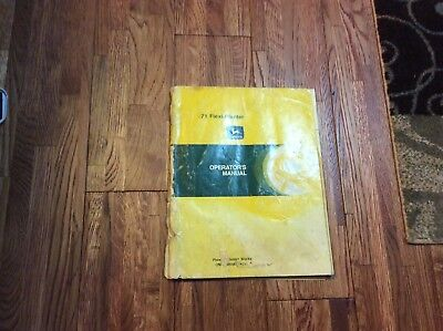 John Deere 71 Flexi Planter Operators Manual Oma28658